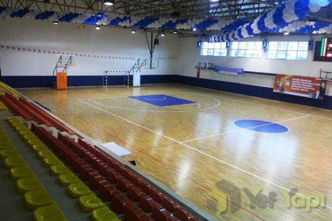 Kaplı Spor Salonu Parke Zemin