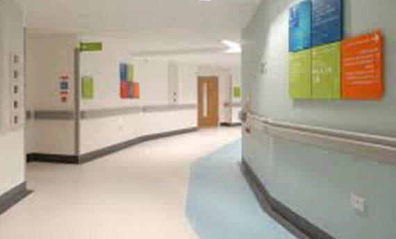 linolyum hastane hijyenik zemin kaplaması