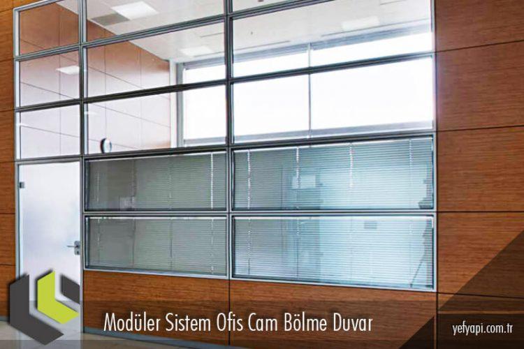 Ofisleriniz İçin Modüler Cam Bölme Duvar Fikirleri