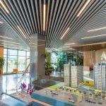 Artaş genel müdürlük baffle metal asma tavan sistemi