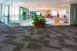Ofislere Özel Karo Halı Zemin Kaplama Uygulamamız