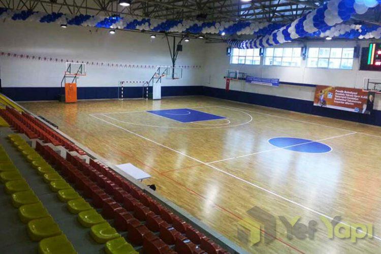 PVC Spor Salonu Zemin Kaplama Uygulamaları