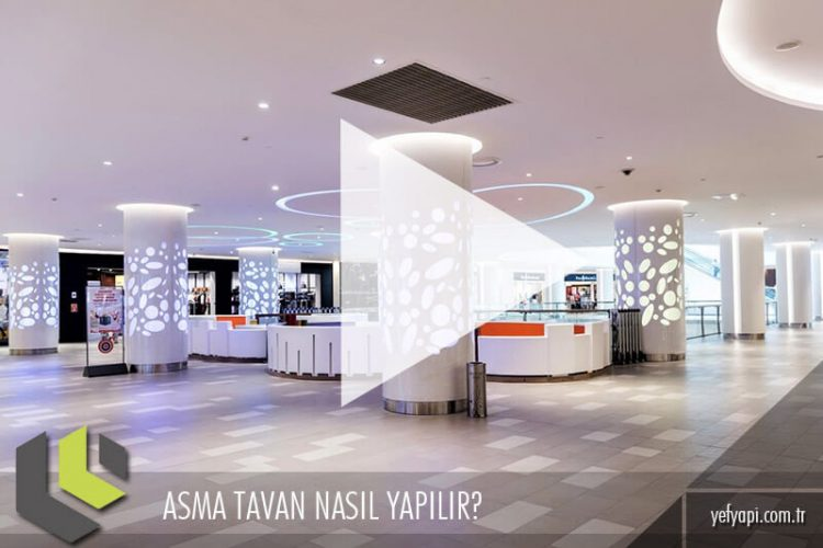 Asma Tavan Nasıl Yapılır? Video