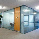 cam cama bölme duvar-lay-in asma tavan ofis tasarımı