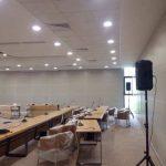 itü konferans salonu asma tavan sistemi clip in metal