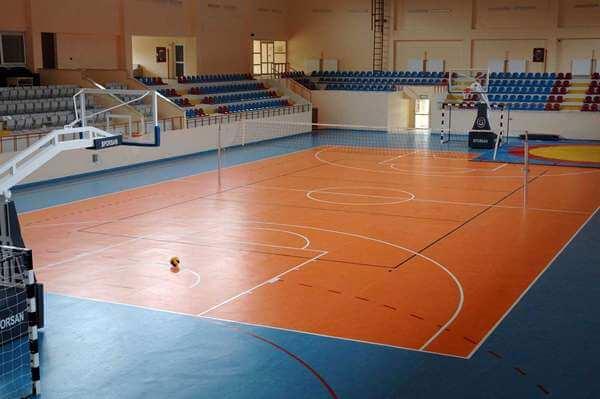 Kapalı spor salonu pvc zemin kaplama