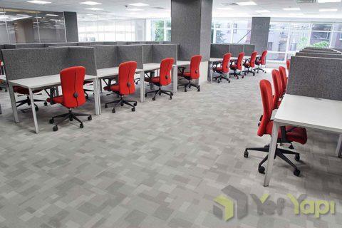 Karo halı ofis zemin kaplama metrekare fiyatları