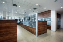 Kısa modüler bölme duvar ofis sistemleri