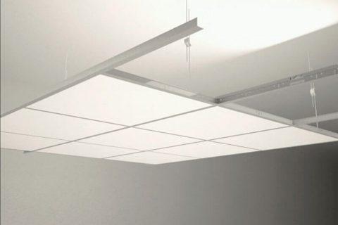 Lay on metal asma tavan oturmalı görünür taşıyıcılı