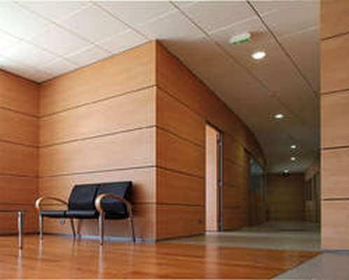Ofis Bölme Duvar Ahşap Modüler Laminant Parke