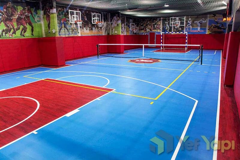 Spor salonu zemini kaplama Basketbol