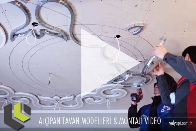 Alçıpan Asma Tavan Yapım Videoları ve Modelleri