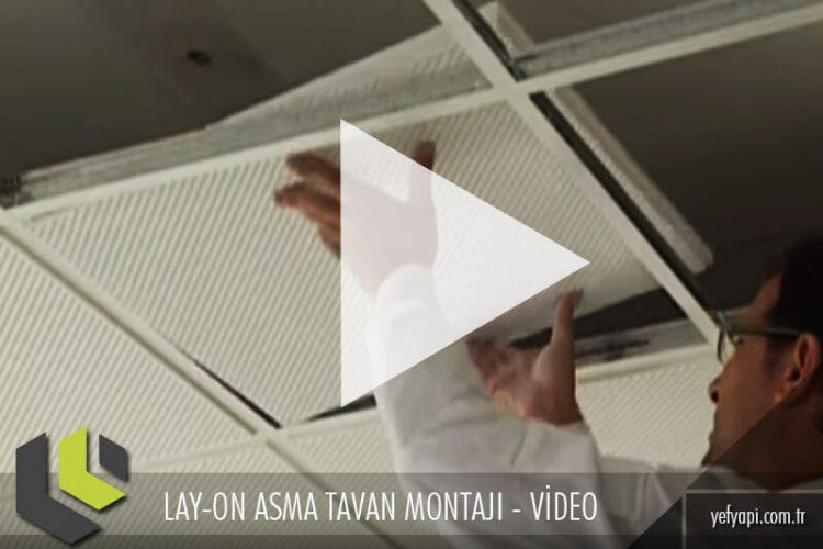 Lay-in Metal Asma Tavan Nasıl Yapılır? Video