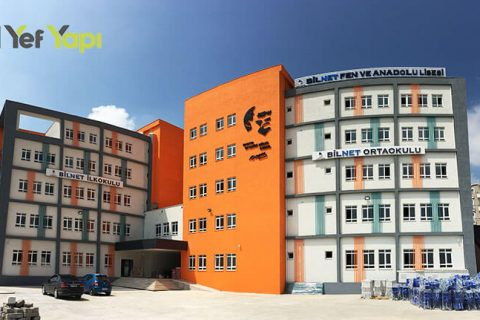 Bilnet Koleji Tarkett PVC Zemin Kaplama Yapımı
