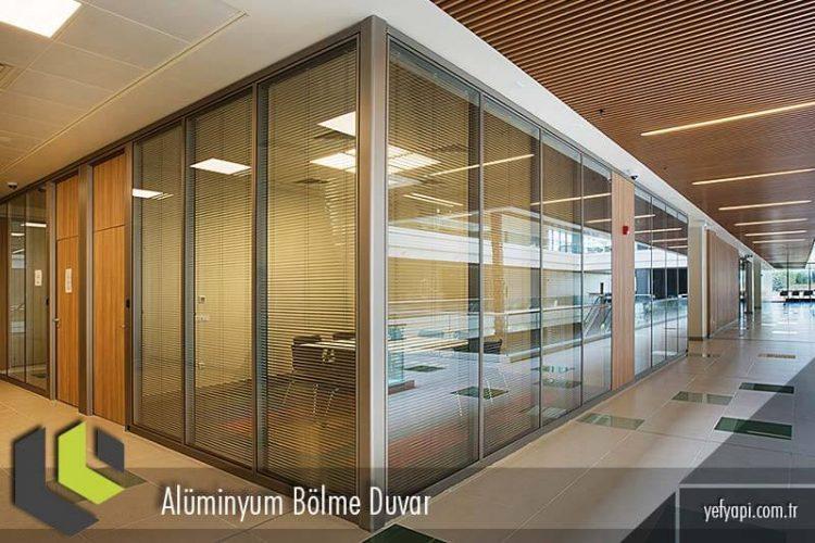 Alüminyum Bölme Duvar Örnek Çalışmalar