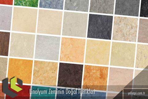 Linolyum Zeminin Doğal İçerikleri Nelerdir?