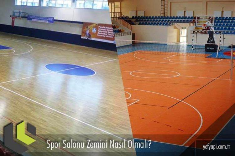 Spor Salonu Zemini Nasıl Olmalı?