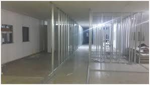 Alçıpan duvar yapım aşamaları - Taşıyıcı sistem