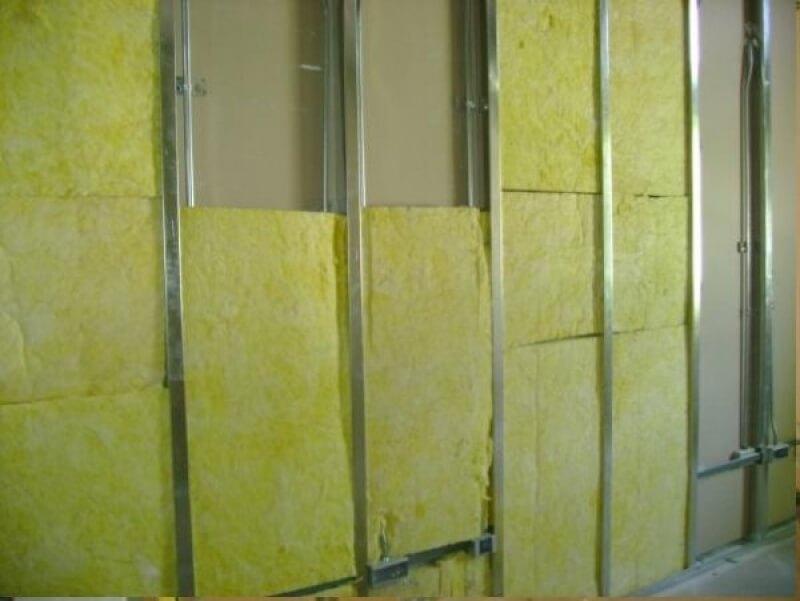 Alçıpan duvar camyünü izolasyon