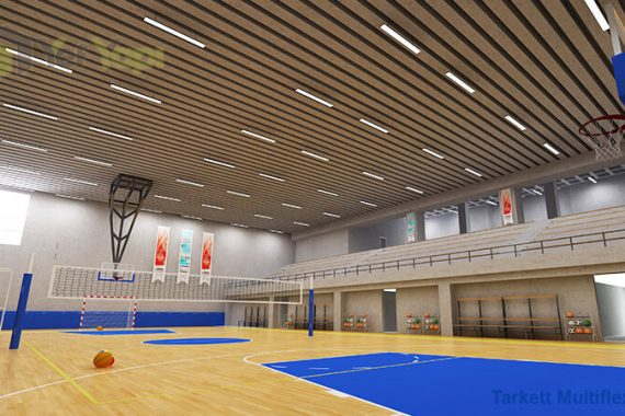 Fiba Onaylı Basketbol Parke Zemin Kaplama