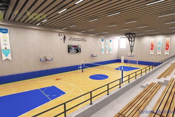 Kapalı Spor Salonu Parke Zemin Kaplama Maliyeti