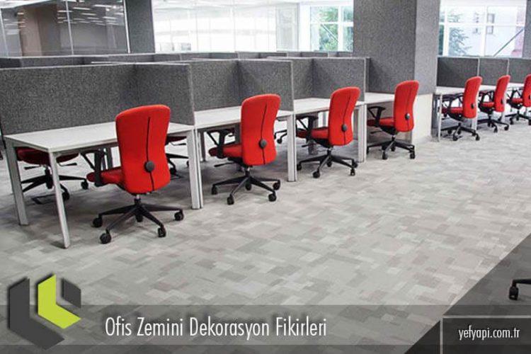 Ofis Zemini Dekorasyon Fikirleri ve Zemin Modelleri