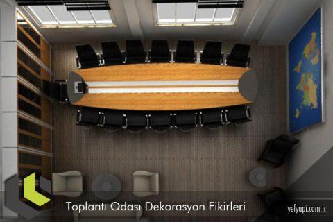 Toplantı Odası için Özel Dekorasyon Fikirleri