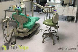 Şişli İstanbul Dental Tarkett PVC Zemin Uygulama