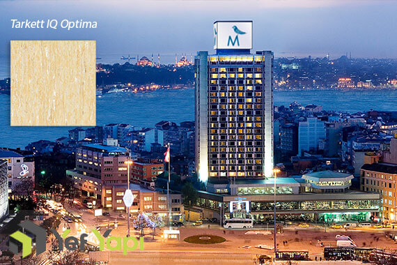 The Marmara Otel Tarkett IQ Optima Zemin Uygulması