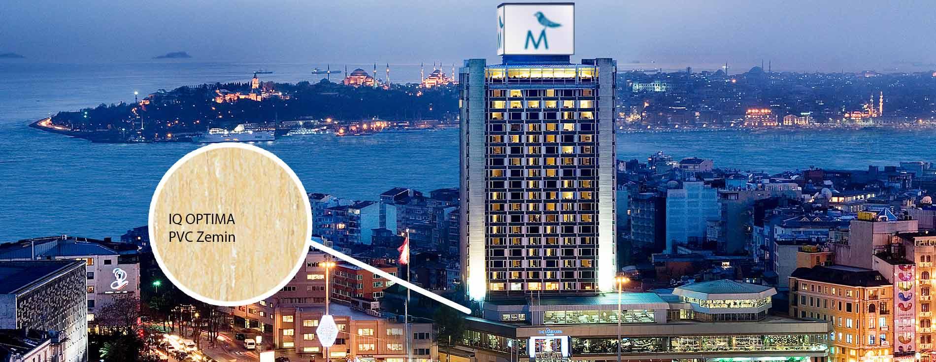 the marmara otel pvc zemin kaplama yapan firma