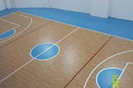 Biruni Üniversitesi Spor Salonu Zemini Yapımı