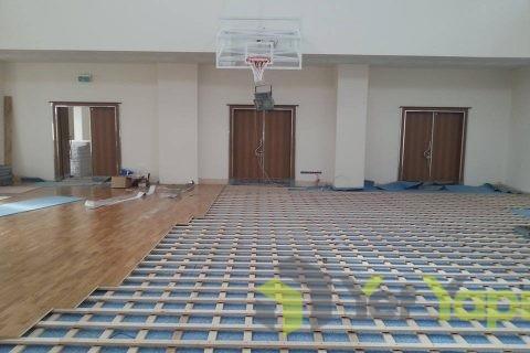 Bağcılar Çift Kiriş Sistem Ahşap Spor Salonu Projesi