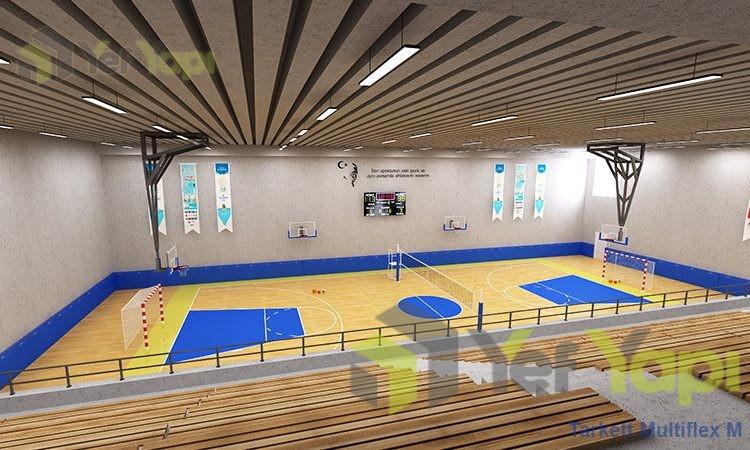 Kapalı Spor Salonu Zemin Kaplama Çeşitleri
