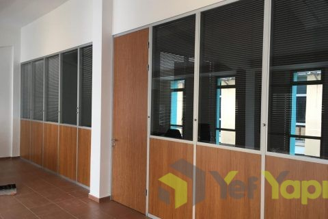 Esenler, Ofis Modüler Cam Bölme Duvar Sistemi